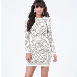 Bebe Studded Embellished Dress